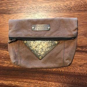 Vanishing Tribe Leather Fanny Pack/Wallet